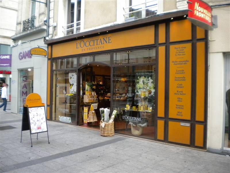 Drugstores perfumeries France, L'Occitane