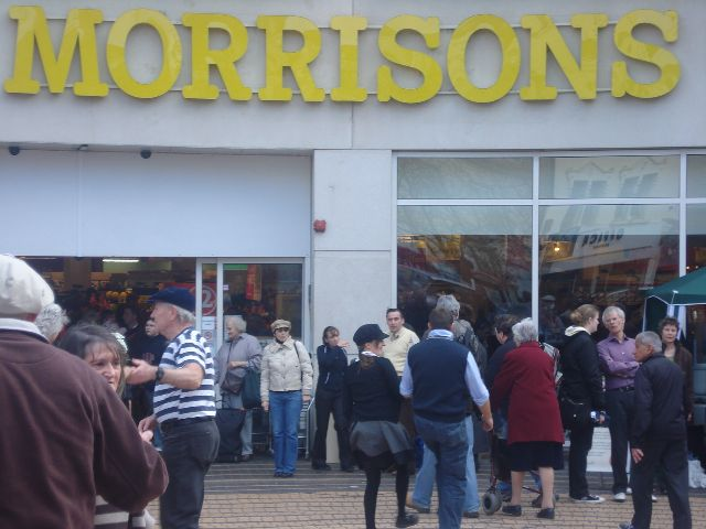 Retailers in the UK, picture Morrisons