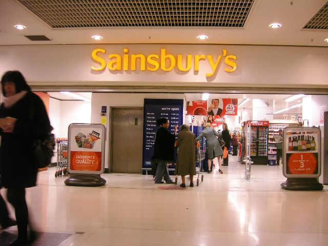 Retailers in The UK, picture Sainsbury's