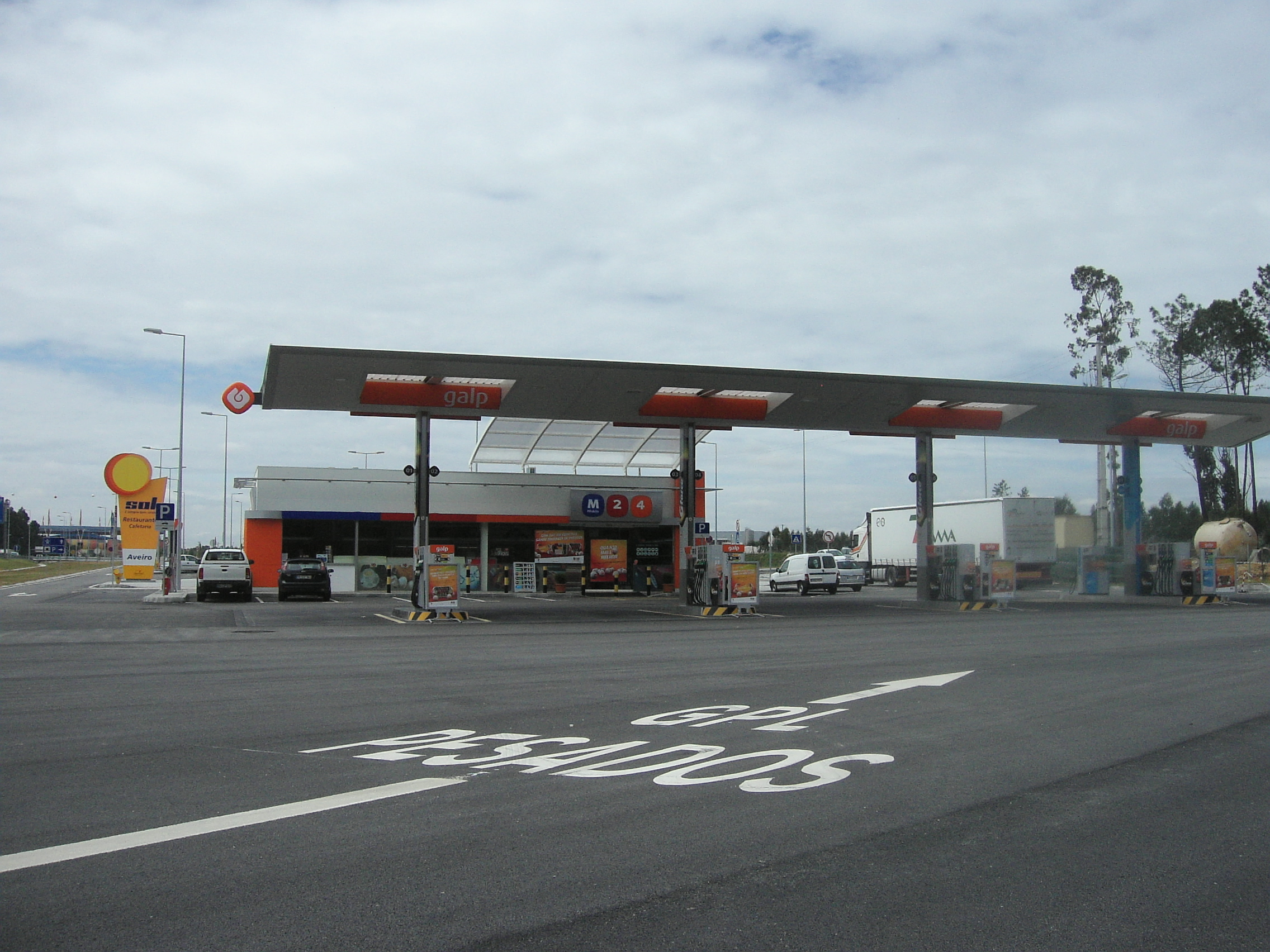 Petrol stations in Portugal: Galp