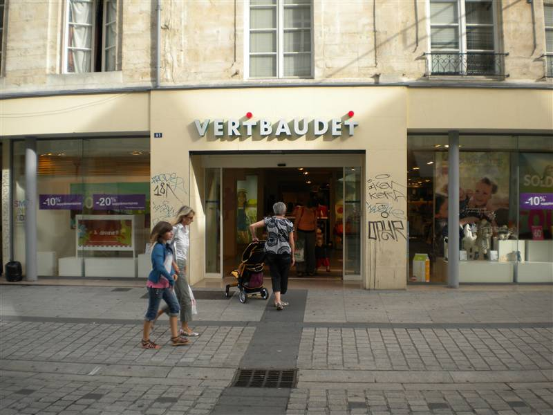 Retailers in France