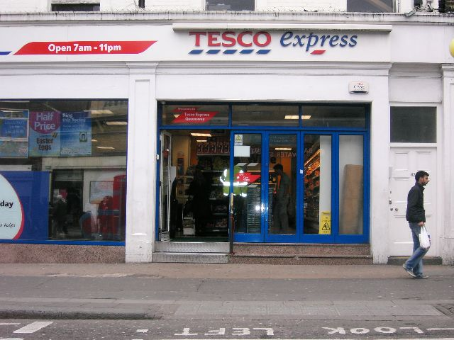 food retailers in uk, Picture Tesco Express