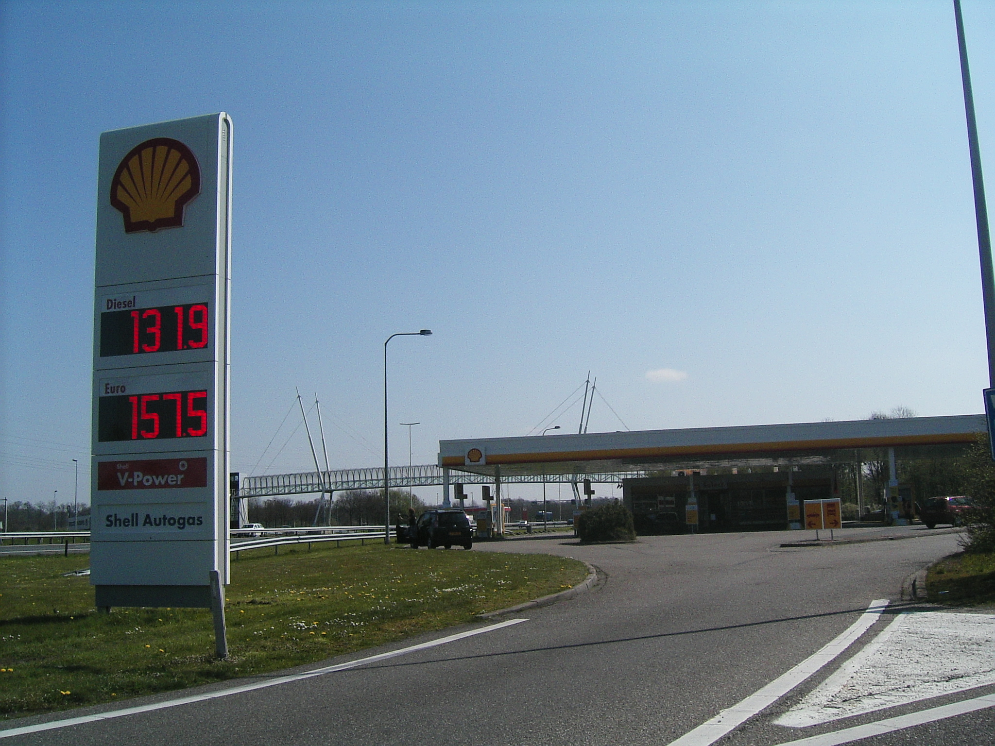 Shell  Petrol stations in The Netherlands