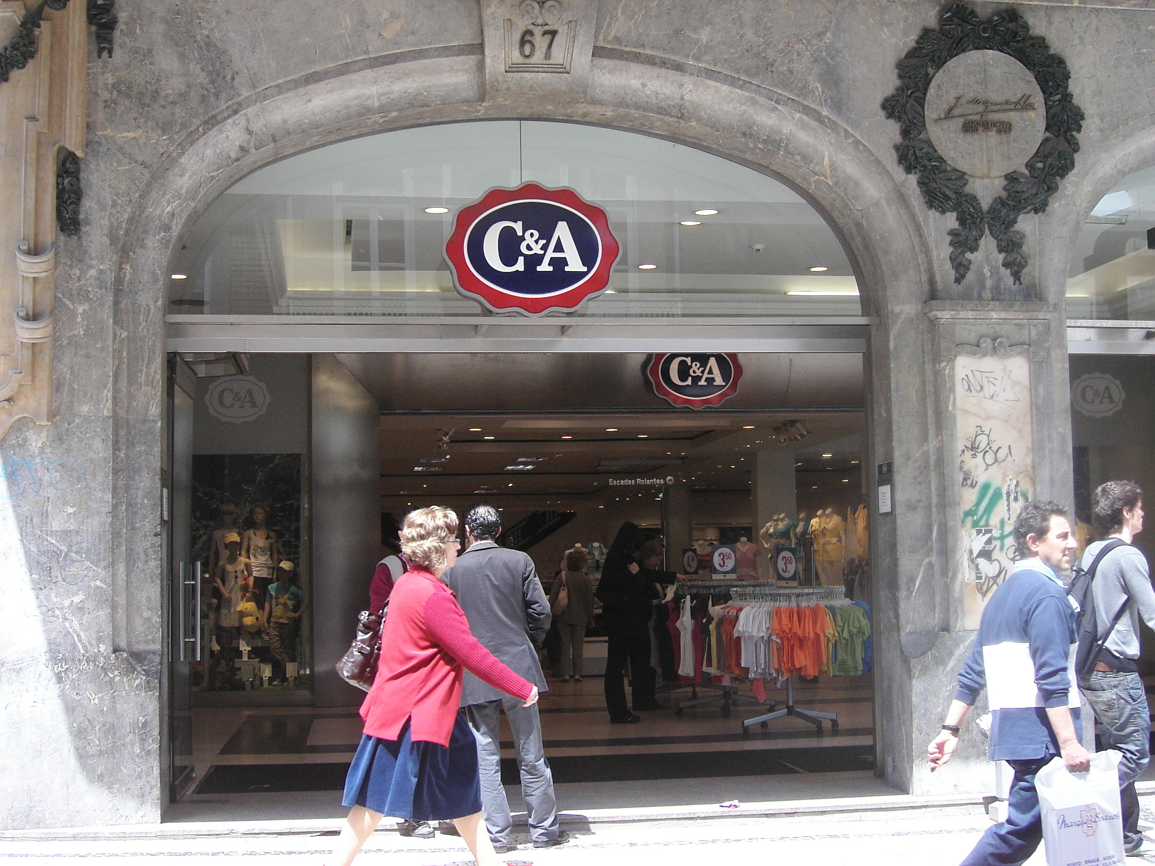 Retailers in Germany, C&A