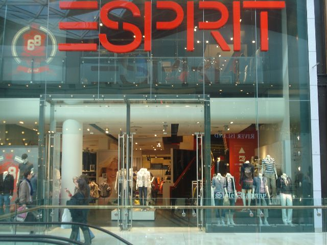 Retailers in Germany, Esprit